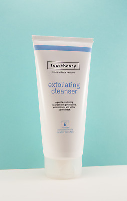 Facetheory Glycolic Cleanser/Face Scrub (E1) with Glycolic Acid, Salicylic Acid