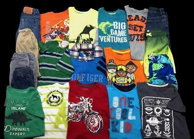 BOYS SIZE 5 5T 5/6 Carter's LEVI JEANS Spring Summer Clothes Lot **FREE SHIP