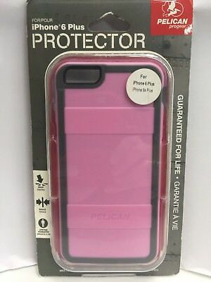 Pelican ProGear Protector Case For iPhone 6 Plus/6s Plus - Pink/Gray - NEW