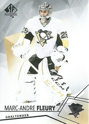 Marc-Andre Fleury #15 - 2015-16 SP Authentic - Base