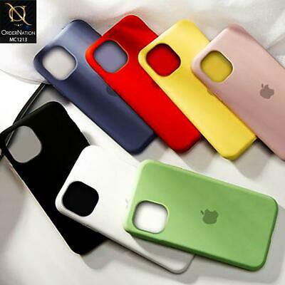 Cover Custodia Originale Silicone Soft Per Apple iPhone 11 11 Pro 11 Pro Max