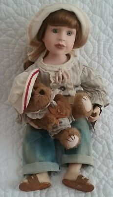 Boyds Bears Yesterday's Child Lucinda & Gilligan #4929 Doll with Box