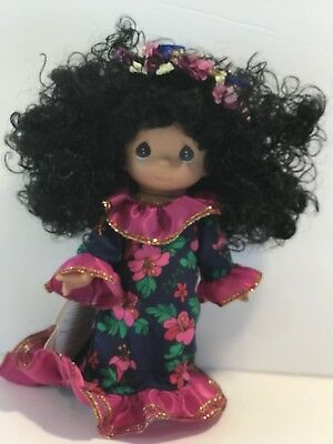 Precious Moments Children of The World KEIKI LANI Hawaii Doll 7""