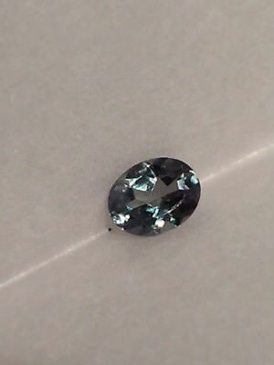 Genuine Natural Alexandrite Color Change Oval 4.97 x 3.91 x 2.33 MM  .39 Ct.