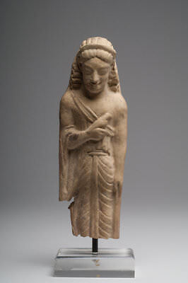 Ancient Archaic Greek Kore Figure