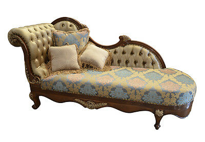Pleasing Chaise Lounge Fainting Couch French Provincial Sofa Settee Unemploymentrelief Wooden Chair Designs For Living Room Unemploymentrelieforg