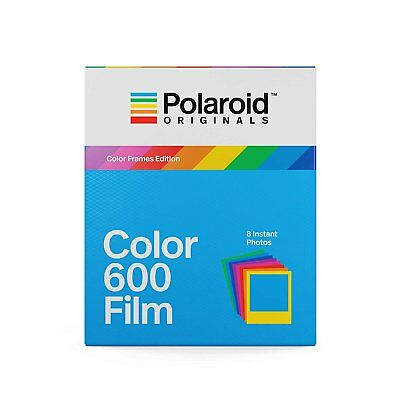 Polaroid Originals 4672 Instant Color Film with Color Frames for 600 Camera