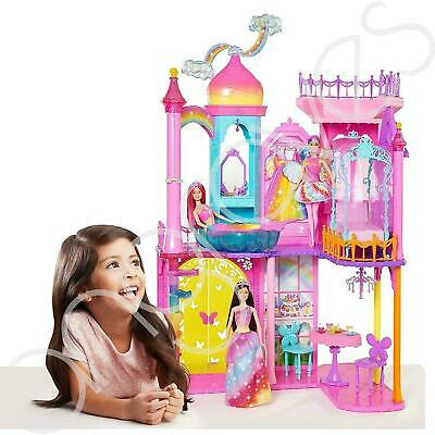 Barbie Dreamtopia Princess Doll House Castle Toy Gift Set Playset With Furnishin