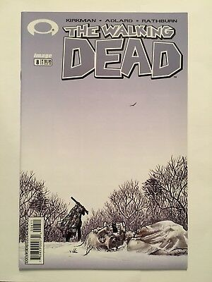 The Walking Dead # 8 Image Comics 1st Print VFN