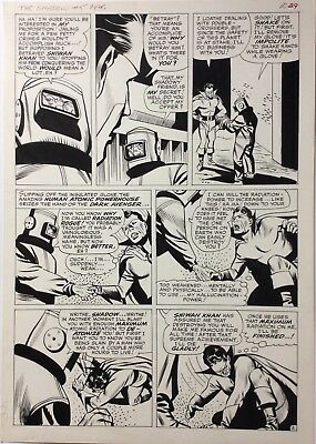 Shadow 5 Paul Reinman original comic art