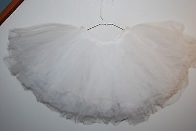 Body Wrappers Women's Practice Tutu - Size M/L - White