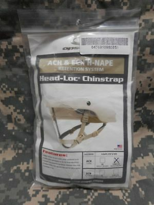 Ach Chin Strap Ech Chin Strap Improved H-Nape Ops Core Head-Loc Model
