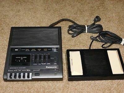 Panasonic Rr-930 Microcassette Transcriber With Foot Control - Used