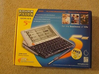 Slightly used Psion Series 5MX Palmtop Computer PDA (1900-0142-01)