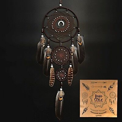 Indian Dream Catcher Handmade Wall Hanging Home Decor Dream Catcher With Dia
