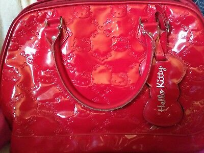 Loungefly Red Hello Kitty bag ◆as is◆