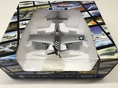 "Franklin Mint P-51 Die-cast Model ""Big Beautiful Doll"""