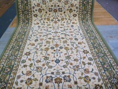 Persian Design Hallway Runner by the Meter 80cm Wide Elite Soft High Quality Cre