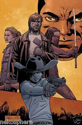 Walking Dead 115 Midnight Release Cover M Variant All Out War Michonne Sdcc Nm