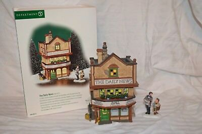 """Dept 56 Dickens Village """"the Daily News"""""""
