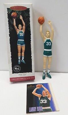 Hallmark Ornament 1996 Larry Bird * Hoop Stars #2 * NBA **  FREE SHIPPING