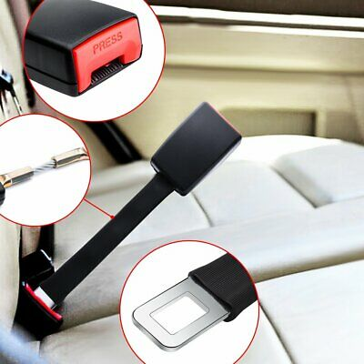 X2 Universal 25cm Car Seat Seatbelt Safety Belt Extender Extension 2.1cm Buckle
