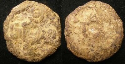 Uyghurstan, Silk Road, heavy iron cash, 9th to 12th Cent AD