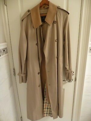 Gorgeous Brooks Brothers Trench Coat Cashmere Removable Liner~Mens 40L~NWOT $799