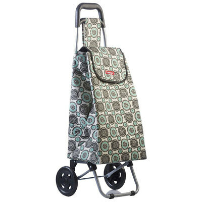 Typhoon Grand Floral Grocery Shopping Cart/Trolley Portable Foldable Bag Wheels