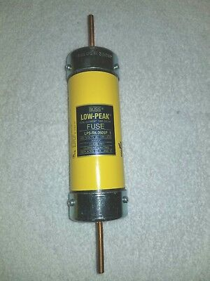 Buss Low-Peak LPS-RK-350SP Dual Element Time Delay Fuse 350A 600VAC 300VDC,NEW