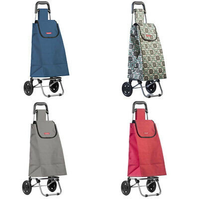Typhoon Grocery Shopping Cart/Trolley Portable Foldable Bag/Basket w/ Wheels