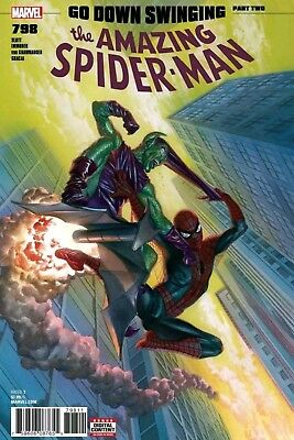 Amazing Spiderman 798 1St Print Alex Ross Cover Green Goblin Red Goblin! Presale