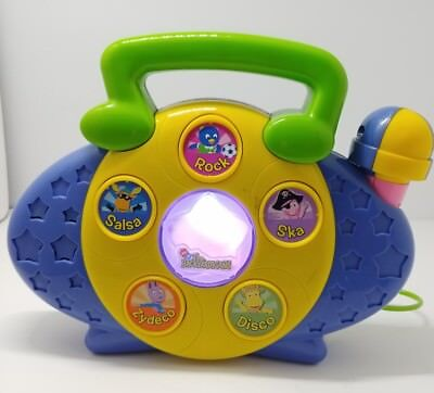 The Backyardigans Musical Toy RADIO Microphone SING ALONG Nick Mattel
