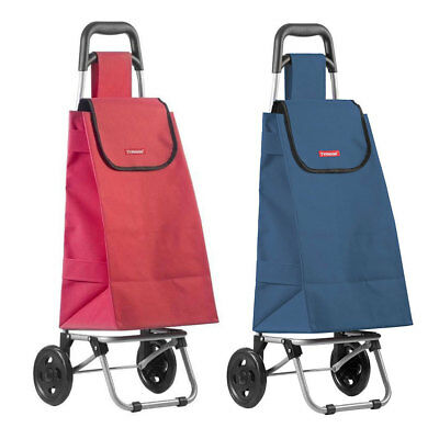Typhoon Red/Navy Grocery Shopping Cart/Trolley Portable Foldable Bag/Basket