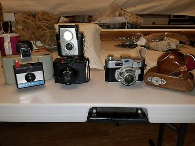 Misc Camera Lot, Lot Of 4, Vintage ((For Parts))