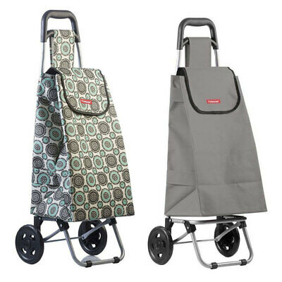 Typhoon Grand Floral/Grey Grocery Shopping Cart/Trolley Portable Foldable Bag