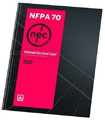 NFPA 70 National Electrical Code 2017 1st Ed. International EDITION- PAPERBACK
