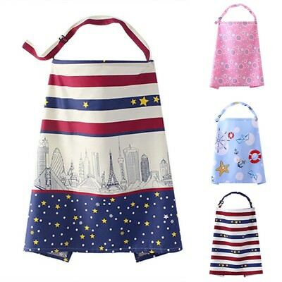 Nursing Breast Feeding Apron Cover Breathable For Mom Outdoor Travel