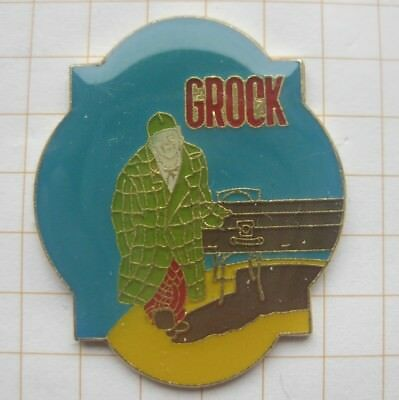 GROCK / KING OF CLOWNS  / NARR / SPAßMACHER  .......... Comic-Pin (166g)