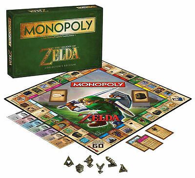 Monopoly: The Legend Of Zelda Collector's Edition Board Game New Sealed