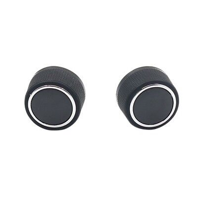 2 Pcs Replacement Rear Radio Audio Volume Control Knob for Chevrolet GMC DT
