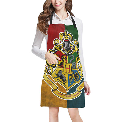 Harry Potter Kitchen Apron with Pockets Fully Adjustable Working Clothing