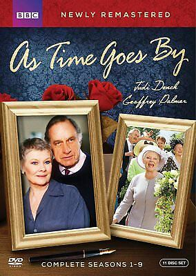 As Time Goes By:Complete Series Seasons 1-9(DVD,2017,11-Disc Set,Remastered) NEW