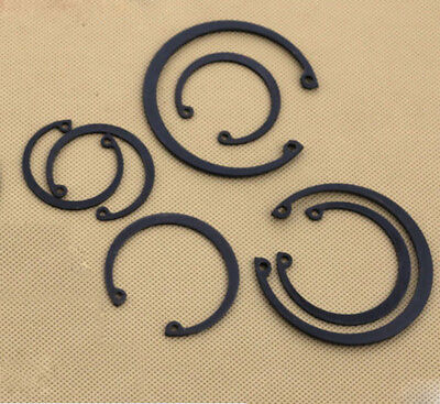 Φ8-Φ37 65Manganese C type Internal circlips retaining rings for bore GB893