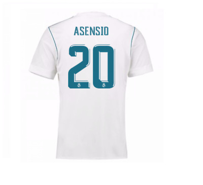 Adult Real Madrid Shirt 2017-18 with Asensio 20 V11