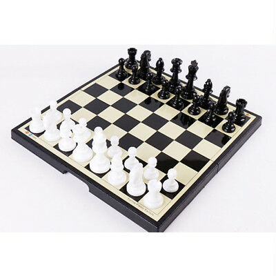 Magnetic Folding Chessboard Chess Board Set Portable Kids Game Toy