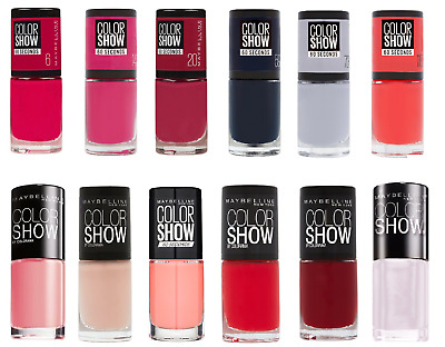 Maybelline Color Show 60 seconds Nail Polish 7ml / Choose Color