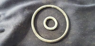 Superb lot of Celtic little and large bronze money ring type found Britain L29d