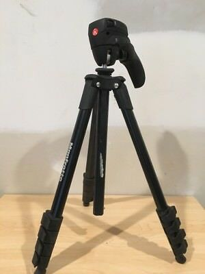 "Manfrotto  61"" Compact Action Aluminum Tripod with Joystick Head - Black EG05"