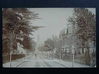 West Midlands Dudley STOURBRIDGE Greenfield Avenue c1903 RP Postcard